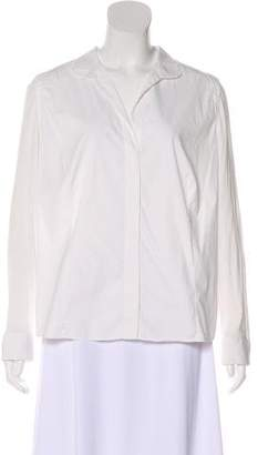 Akris Punto Long Sleeve Button-Up