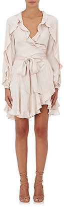 Zimmermann Women's Winsome Flutter Wrap Dress $570 thestylecure.com