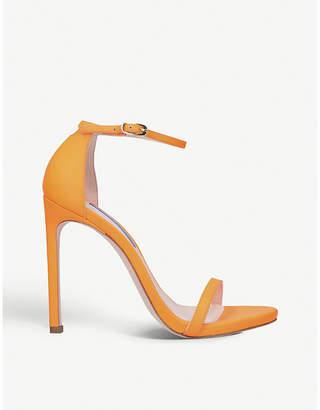 Stuart Weitzman Nudist leather stiletto sandals