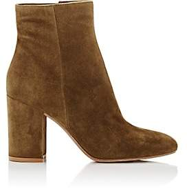 Gianvito Rossi Women's Rolling Suede Ankle Boots - Marais