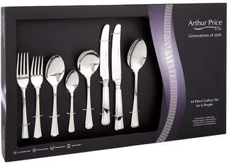 Arthur Price Of England Stainless Steel 24-Piece Cutlery Set