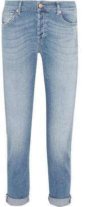 7 For All Mankind Josefina Faded Boyfriend Jeans