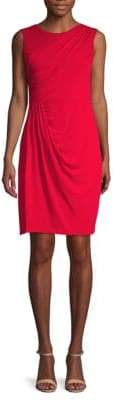 Donna Karan Draped Sheath Dress