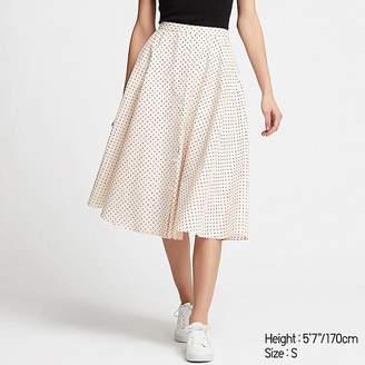 Uniqlo Women's Front Button Circular Skirt
