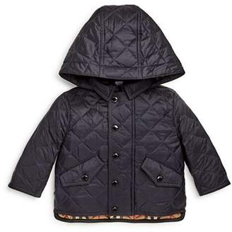 Burberry Boys' Ilana Quilted Hooded Jacket - Baby