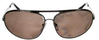 Bvlgari Gunmetal Tinted Sunglasses