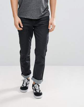 d40c57bffe40fc Black Coated Jeans Men - ShopStyle UK