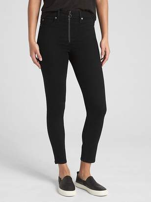 Gap High Rise True Skinny Ankle Jeans with Secret Smoothing Pockets