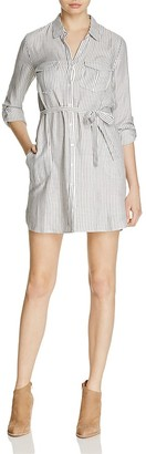 Soft Joie Wila B Striped Shirt Dress $198 thestylecure.com