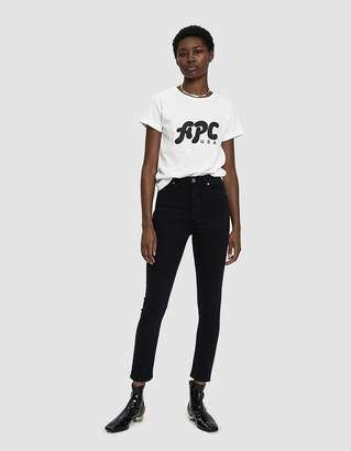 A.P.C. Nancy USA Logo T-Shirt
