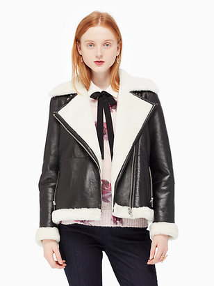 Shearling coat $1,698 thestylecure.com