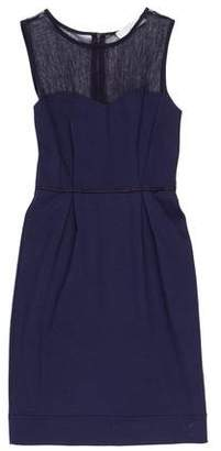 Stella McCartney Mesh-Accented Mini Dress