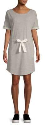 Saks Fifth Avenue Tie Waist Terry Dress