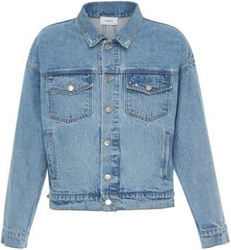 Rhude Vintage Denim Trucker Jacket