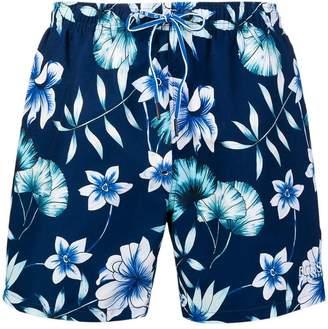 HUGO BOSS tropical printed swim trunks
