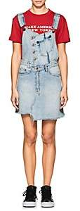 Ksubi Women's Cut + Slice Distressed Denim Dress - Lt. Blue