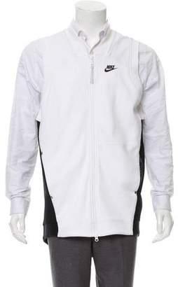 Nike Mesh-Trimmed Zip Vest