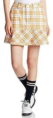 (ビバハート) VIVA HEART チェック柄スカート FRESH 012-71242 012-71242 33 イエロー L