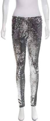 Isabel Marant Sequined Mid-Rise Pants