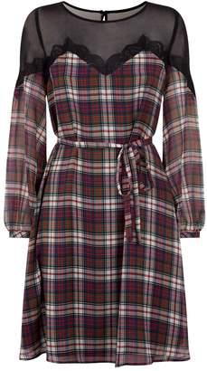 Claudie Pierlot Check Dress
