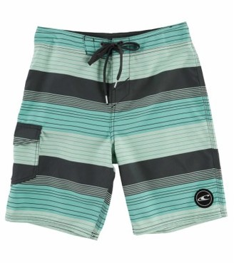 Boy's O'Neill Santa Cruz Stripe Board Shorts $35 thestylecure.com