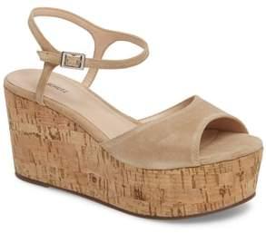 Schutz Heloise Platform Wedge Sandal