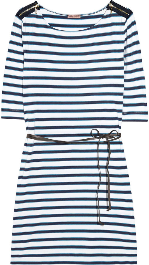 Juicy Couture Striped cotton-blend dress
