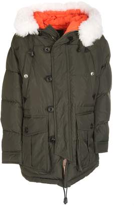 DSQUARED2 Shell Puffer Padded Jacket