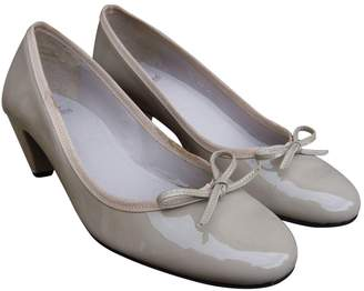 Paraboot Grey Patent leather Heels