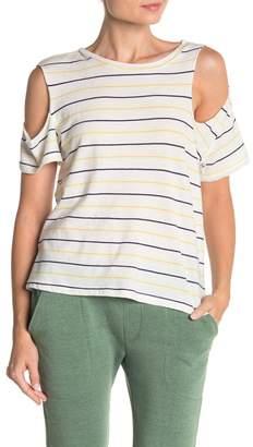 LnA Gaze Cold Shoulder T-Shirt
