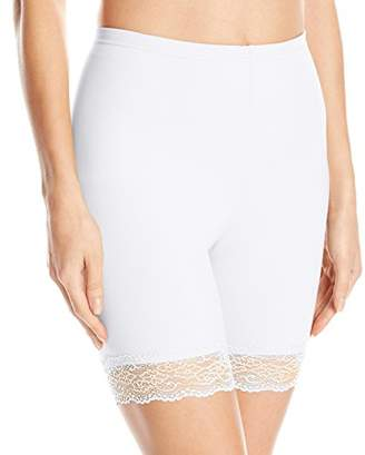 Flexees Women's Maidenform Shapewear Thigh Slimmer Withlace