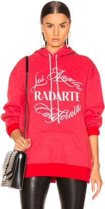 Rodarte Radarte Emblem Oversized Hoodie