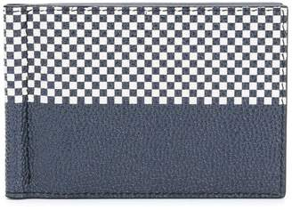 Thom Browne Printed Plaid Money-Clip Wallet