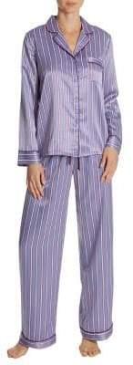 In Bloom Around You Satin Pajama Set