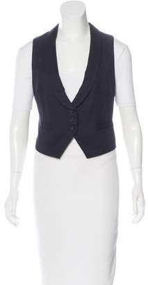 Isabel Marant Shawl Collar Button-Up Vest