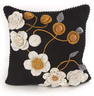 Mackenzie Childs MacKenzie-Childs gardenia square pillow