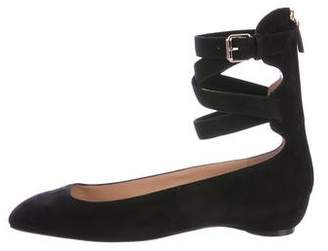 Valentino Ballerina Suede Flats w/ Tags