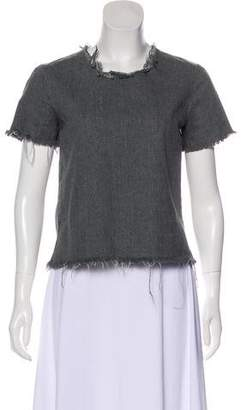 Marques Almeida Marques' Almeida Short Sleeve Top