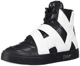 Armani Exchange A X Women's Sneaker High Top with Side Logo Walking Shoe