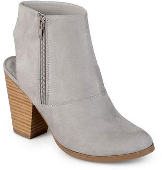 76d59b0efc91 Journee Collection Gray Chunky Heel Women s Boots - ShopStyle