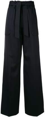 Jil Sander tie waist palazzo pants