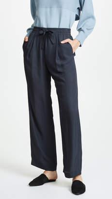 Vince Tie Front Wide Leg Pants