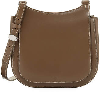 The Row Hunting 9 Vegetable Leather Shoulder Bag