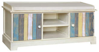 Gallerie Decor Seaside Wood Storage Bench