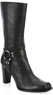 Altuzarra Luxy Harness Ankle Leather Boots
