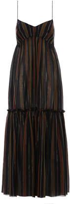 Zimmermann Tali Tiered Long Dress