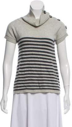 Theory Cashmere Short Sleeve Sweater
