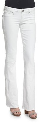 True Religion Joey Low-Rise Flare-Leg Jeans, Optic White $116 thestylecure.com