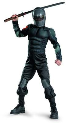 Disguise Costumes GI. Joe Retaliation Snake Eyes Classic Muscle Costume