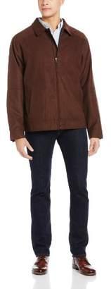 Cutter & Buck Men's Big-Tall Microsuede Roosevelt Jacket